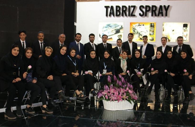 تواجه شركة تبريز إسبري في معرض خاصةً لصناعة السيارات  في طهران ( 2018-2017)